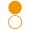 nakładka opaska pomarańczowa