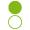 nakładka opaska zielona