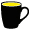 czarno / żółty