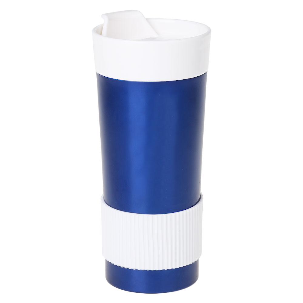 kubek niebieski dwukolorowy